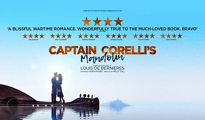 Captain Corelli's Mandolin - Booking until 31 August 2019 tickets at Harold Pinter Theatre in London