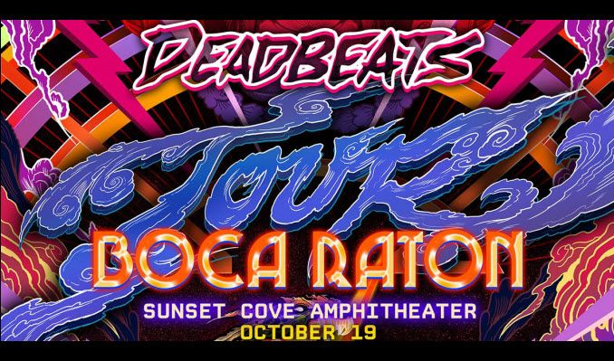 Deadbeats South Florida tickets at Sunset Cove Amphitheater in Boca Raton