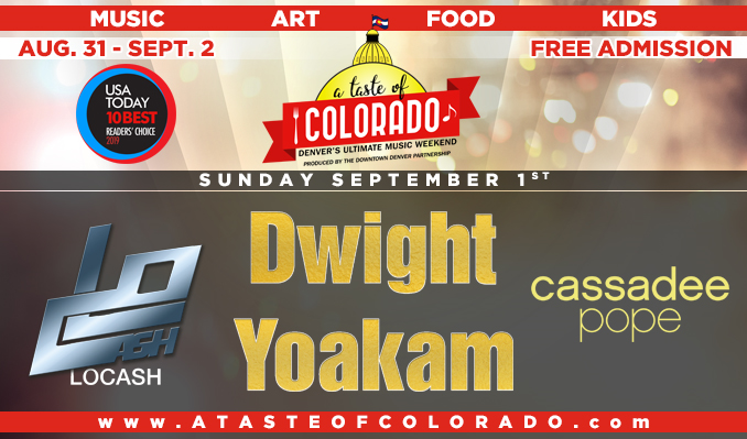 Dwight Yoakam, LOCASH, Cassadee Pope tickets at McNichols Civic Center Building in Denver