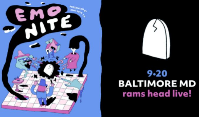 Emo Nite at Rams Head Live presented by Emo Nite LA tickets at Rams Head Live! in Baltimore
