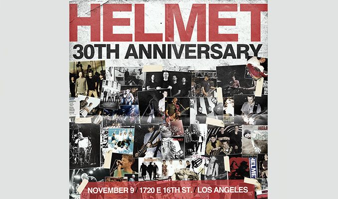 Helmet 30th Anniversary Tour  tickets at 1720 in Los Angeles