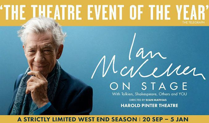 Ian McKellen tickets at Harold Pinter Theatre, London