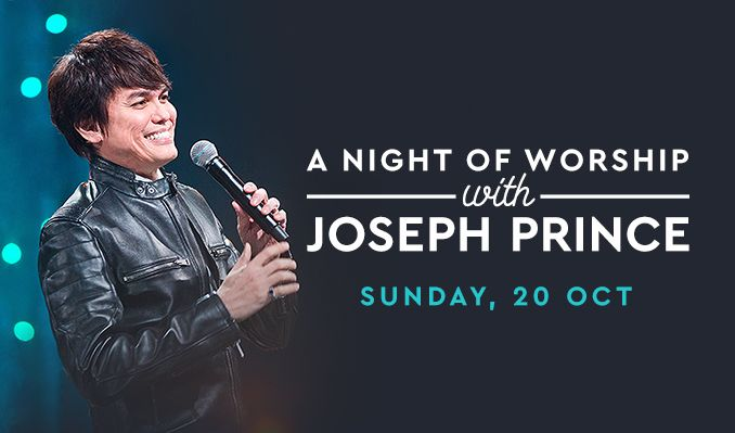 A Night Of Worship With Joseph Prince  tickets at The Theatre at Grand Prairie in Grand Prairie