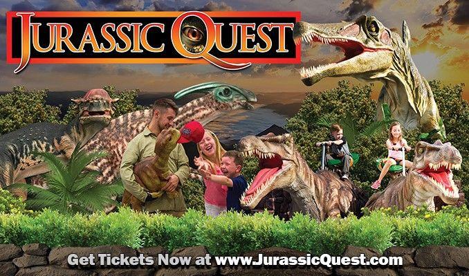 Jurassic Quest 9/20 tickets at Colorado Convention Center in Denver
