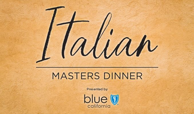 Lexus All-Star Chef Classic - Italian Masters Dinner presented by