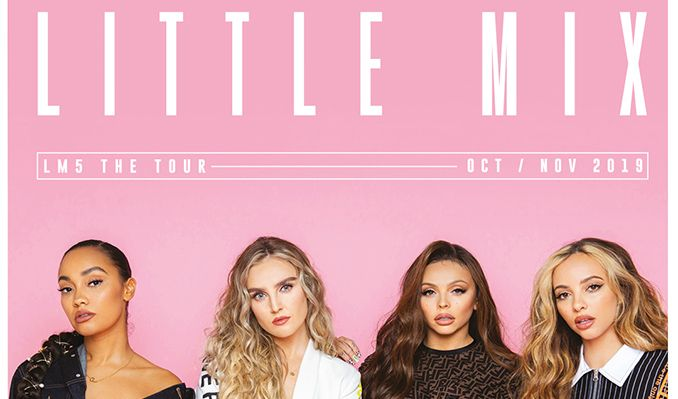 Little Mix  tickets at FlyDSA Arena in Sheffield