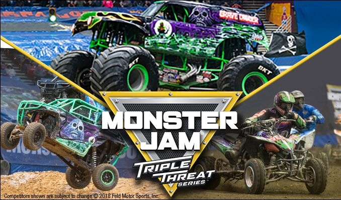 Monster Jam Triple Threat Series tickets at Infinite Energy Arena in Duluth