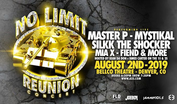 No Limit Records Reunion Tour tickets at Bellco Theatre in Denver
