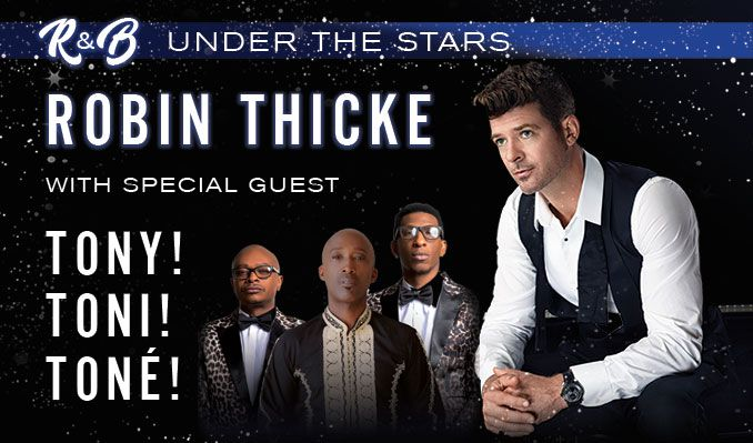 Robin Thicke tickets at AT&T Performing Arts Center - Annette Strauss Square in Dallas