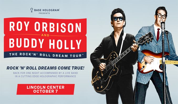 Roy Orbison & Buddy Holly tickets at The Lincoln Center in Fort Collins
