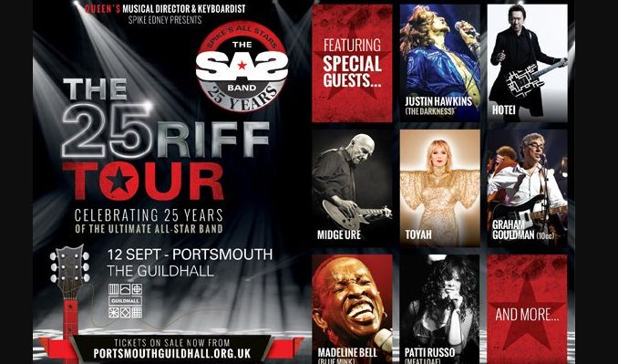 SAS Band - aka Spike's All-Stars tickets at Portsmouth Guildhall in Portsmouth