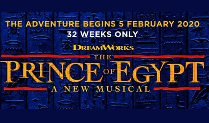 The Prince of Egypt - Booking from 5 February to 12