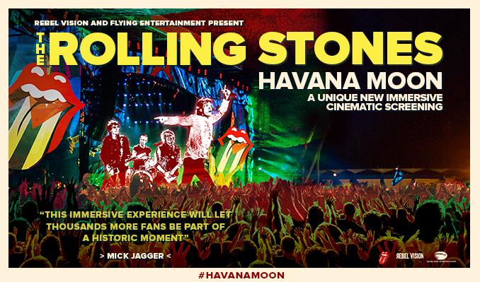 The Rolling Stones: Havana Moon tickets at Usher Hall in Edinburgh