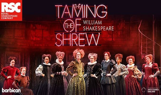 The Taming of the Shrew tickets at London Barbican, London
