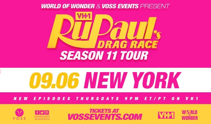 RuPaul's Drag Race: Season 11 Tour tickets at PlayStation Theater in New York