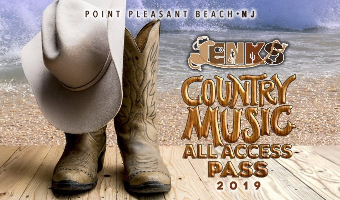 Jenks Country Music All Access Pass tickets at Jenks Club at Jenks Pavilion in Point Pleasant Beach