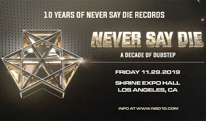 10 Years of Never Say Die Records tickets at Shrine Expo Hall in Los Angeles
