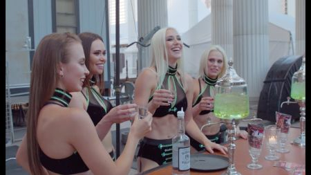 THE GAZILLIONAIRE celebrates 4,500 ABSINTHE shows with Las Vegas firework show, July 4