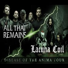 All That Remains & Lacuna Coil tickets at Rams Head Live! in Baltimore