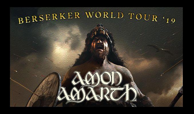 Amon Amarth - Berserker World Tour tickets at ANNEXET/Stockholm Live in Stockholm