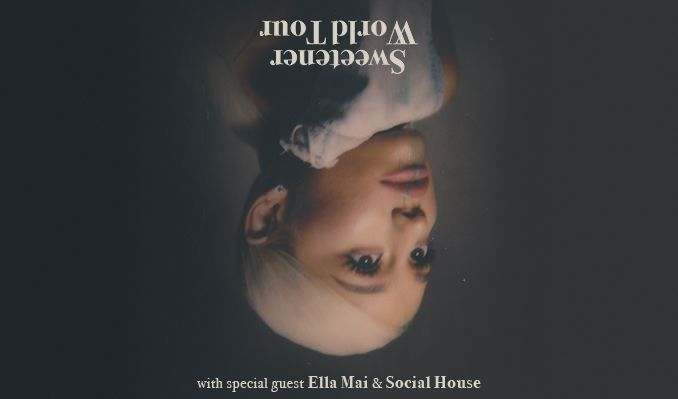 Ariana Grande: Sweetener World Tour tickets at ERICSSON GLOBE/Stockholm Live in Stockholm