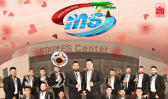 Banda MS de Sergio Lizarraga tickets at STAPLES Center in Los Angeles