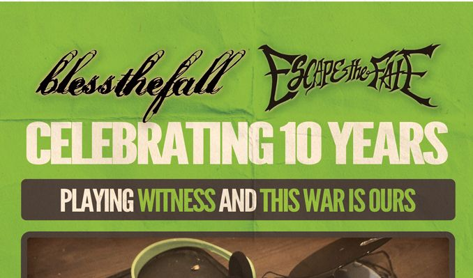 Blessthefall / Escape the Fate tickets at Fête Music Hall - Ballroom in Providence