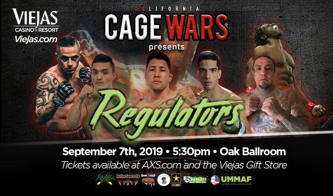 Cage Wars tickets at Viejas Casino & Resort Oak Ballroom in Alpine