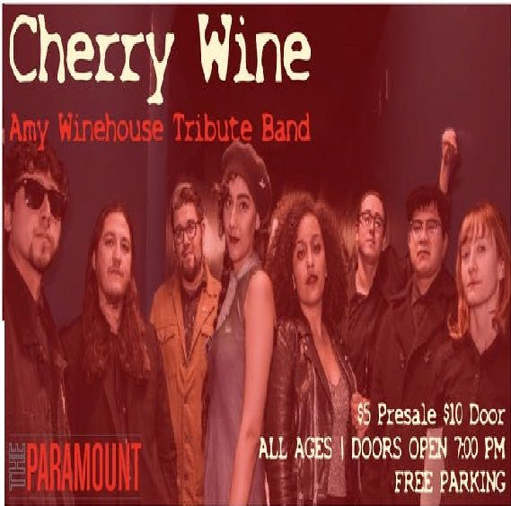 Cherry Wine - A Tribute to Amy Winehouse tickets at The Paramount in Los Angeles