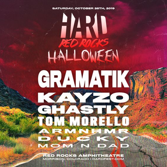 Image for HARD HALLOWEEN Red Rocks 2019