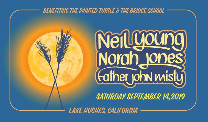 Harvest Moon a gathering: Neil Young, Norah Jones, and Father John Misty tickets at The Painted Turtle in Lake Hughes