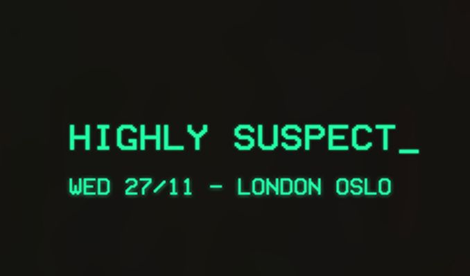 Highly Suspect tickets at Oslo Hackney in London