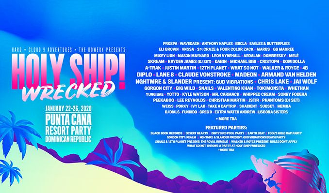 Holy Ship! Wrecked tickets at Hard Rock Hotel (Riviera Maya, Mexico) in Riviera Maya, Quintana Roo