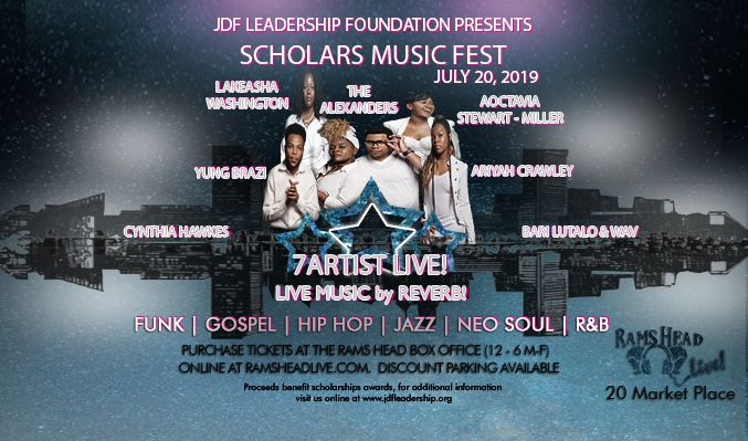 JDF Leadership Foundation Presents: The Scholars Music Fest tickets at Rams Head Live! in Baltimore