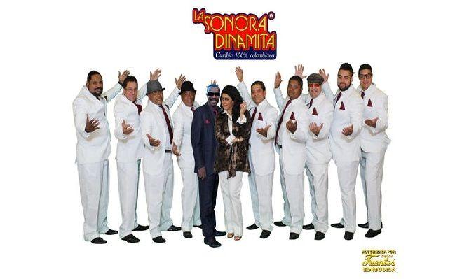 La Sonora Dinamita tickets at The Paramount in Los Angeles