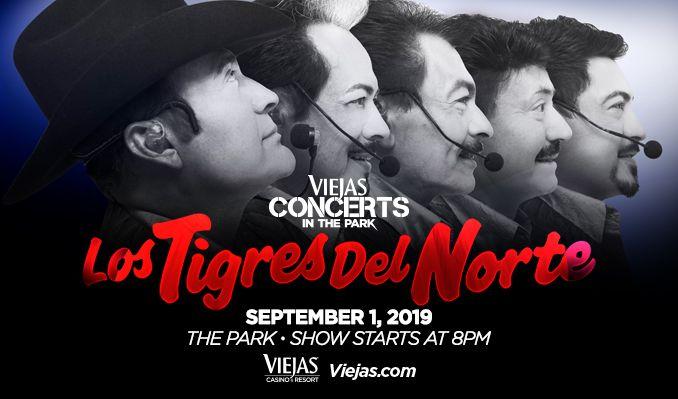 Los Tigres del Norte tickets at Viejas Concerts in the Park in Alpine