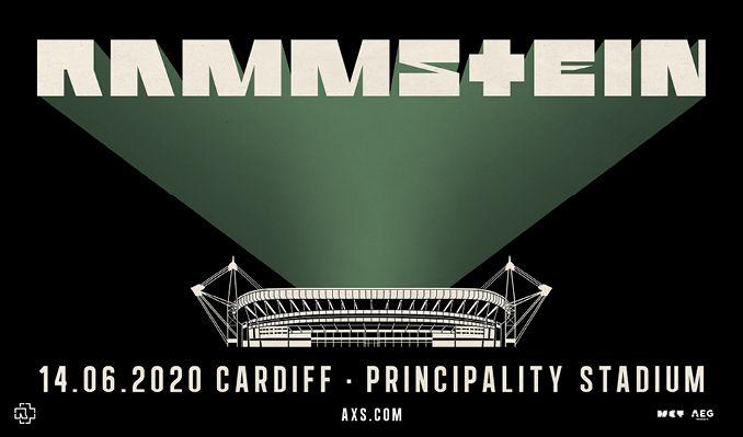Rammstein tickets at Cardiff Principality Stadium in Cardiff