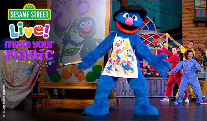Sesame Street Live! Make Your Magic 1/7 6pm tickets in