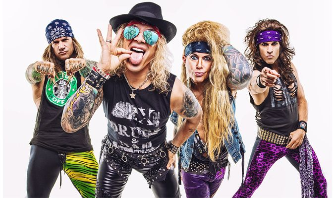 Steel Panther tickets at Arvest Bank Theatre at The Midland, Kansas City