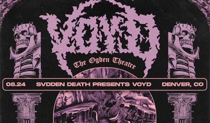 Svdden Death tickets at Ogden Theatre in Denver