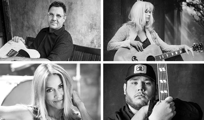 All For The Hall - Vince Gill, Luke Combs, Emmylou Harris and Sheryl Crow tickets at The Novo in Los Angeles