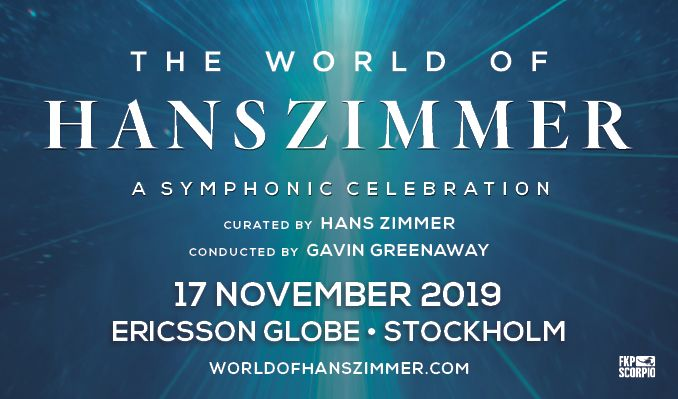 World of Hans Zimmer tickets at ERICSSON GLOBE/Stockholm Live in Stockholm
