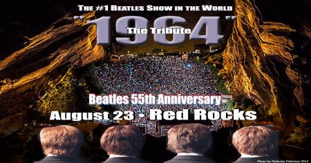 Win VIP package to 1964 The Tribute at Red Rocks Amphitheatre