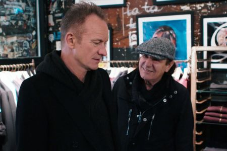 AXS TV sneak peek clip: Sting returns to his music roots in 'Brian Johnson: A Life on the Road' U.S. premiere