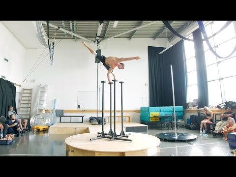 ATOMIC SALOON SHOW's acrobatic Mayor discusses his performance prep