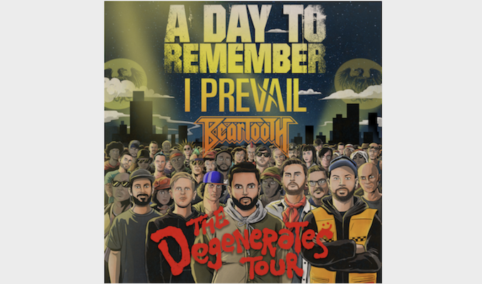 A Day To Remember - The Degenerates Tour  tickets at Terminal 5 in New York