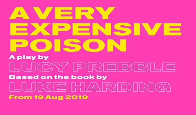 A Very Expensive Poison tickets at Old Vic Theatre, London