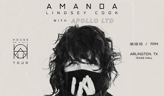 Amanda Cook: House on a Hill Tour tickets at Texas Hall in Arlington