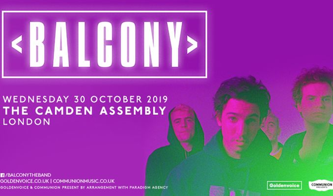 Balcony tickets at The Camden Assembly in London