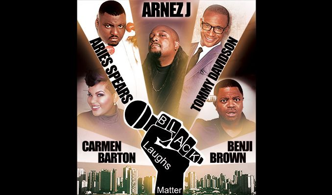 Black Laughs Matter tickets at NRG Arena in Houston